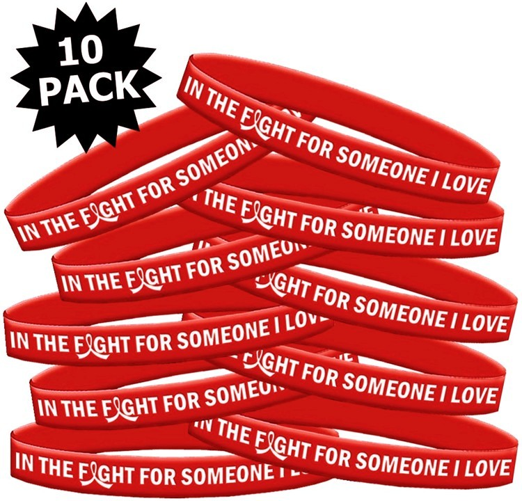 Wristband Bracelets In The Fight For Someone I Love