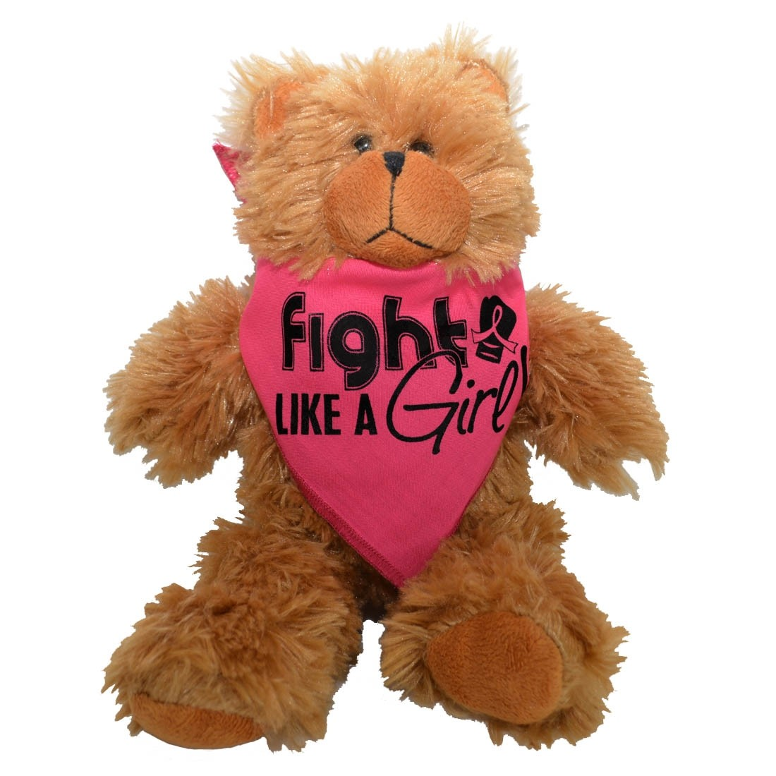 """Fight Like a Girl Signature"" Teddy Bear Fight Pal - Pink"