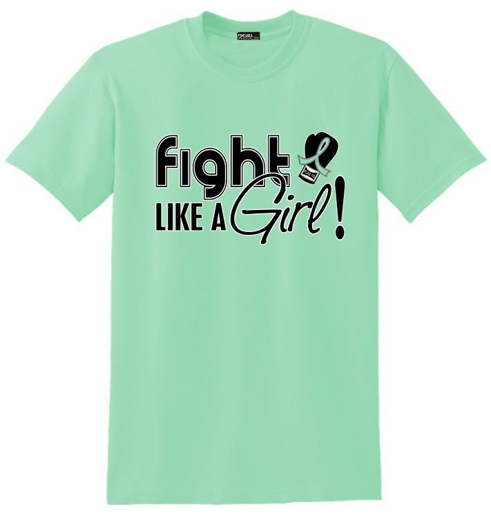 Fight Like a Girl Shirt for Celiac Disease