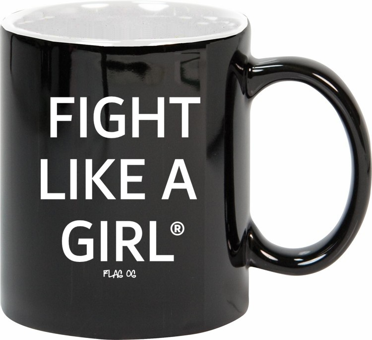 Female Empowerment coffee mug from Fight Like a Girl Statements