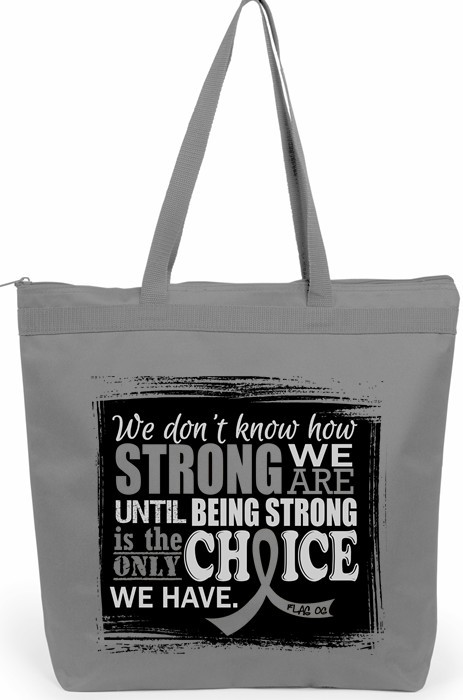 How Strong We Are Tote Bag for Brain Cancer, Diabetes, Parkinson's Disease, Brain Tumor