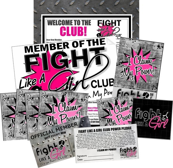 Fight Like a Girl Membership Kit