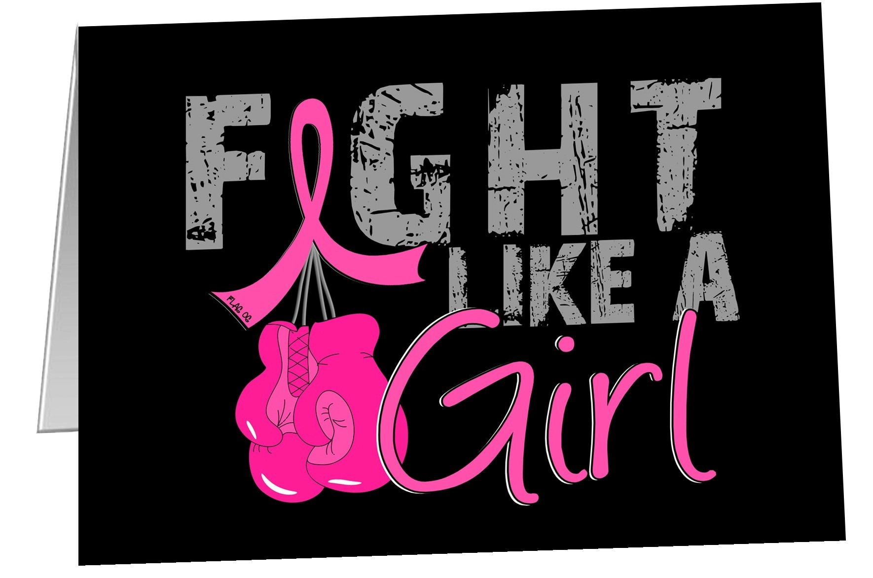 Fight Like a Girl Notecards Envelopes