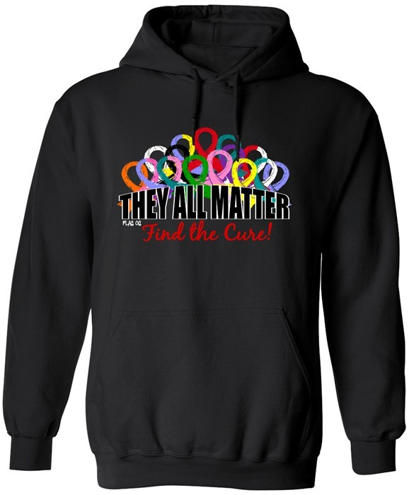 They All Matter Hoodie Awareness Ribbons