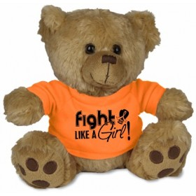 """Fight Like a Girl Signature"" Fight Pal (Steele) - Orange"