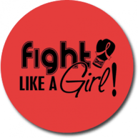 """Fight Like a Girl Signature"" Jar Opener - Red"