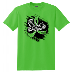 """Screw Cancer"" Unisex T-Shirt - Lime Green"