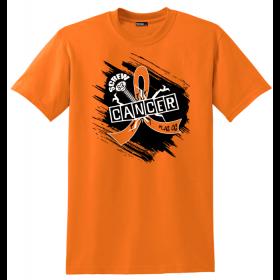"""Screw Cancer"" Unisex T-Shirt - Orange"