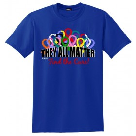 """They All Matter"" Unisex T-Shirt - Blue"