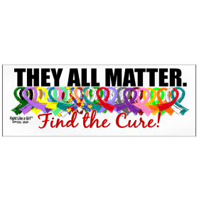 """They All Matter"" Bumper Sticker"