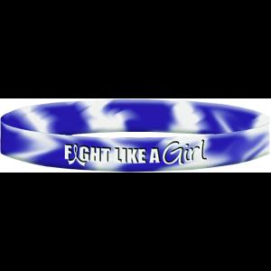 Fight Like a Girl Wristband Bracelet for ALS aka Lou Gehrig's Disease