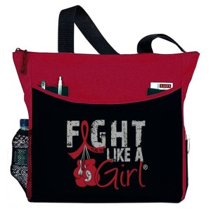 Fight Like a Girl Tote Bag for Multiple Myeloma, Amyloidosis, Brain Aneurysm, hereditary Hemochromatosis, Sickle Cell Disease