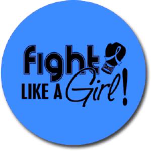 """Fight Like a Girl Signature"" Jar Opener - Blue"