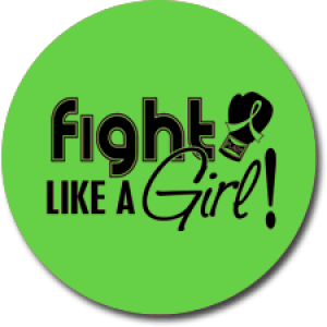 """Fight Like a Girl Signature"" Jar Opener - Lime Green"