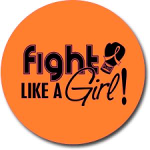 """Fight Like a Girl Signature"" Jar Opener - Orange"
