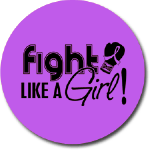 """Fight Like a Girl Signature"" Jar Opener - Purple"