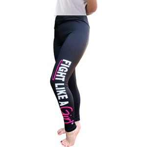 Fight Like a Girl Exercise Leggings