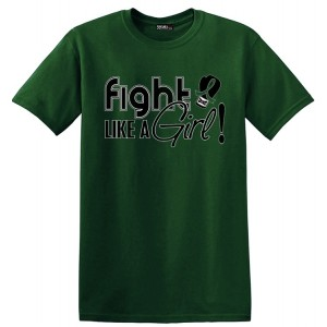 Fight Like a Girl T-Shirt for Liver Cancer and Liver Disease