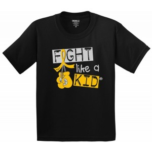 Fight Like a Kid T-Shirt for Childhood Cancer Warriors and Survivors