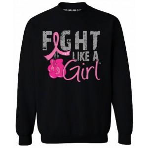 Fight Like a Girl Breast Cancer Sweatshirt