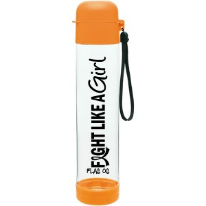 Fight Like a Girl Water Bottle for Leukemia, MS, Kidney Cancer, RSD