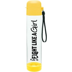 Fight Like a Girl Water Bottle for Endometriosis, Hydrocephalus, Bladder cancer, Sarcoma