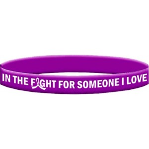 Wristband In The Fight For Someone I Love Lupus, Epilepsy, Crohn's Disease, Pancreatic Cancer, Chiari Malformation, Sarcoidosis, Fibromyalgia, GIST
