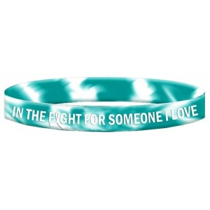 Cervical Cancer Wristband Bracelet In The Fight For Someone I Love