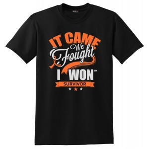 It Came. We Fought. I Won. Leukemia Kidney Cancer Survivor T-Shirt