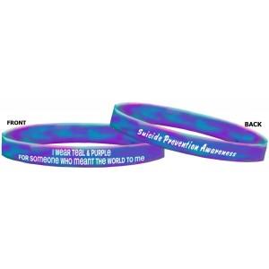 Suicide Prevention Awareness Wristband Bracelets