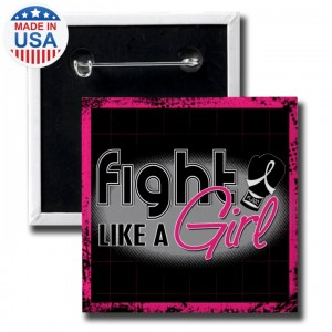 Fight Like a Girl Button