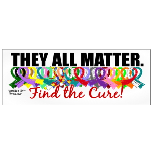 They All Matter Bumper Sticker