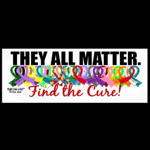They All Matter Bumper Sticker
