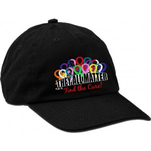 """They All Matter"" Cancer Awareness Embroidered Cap"