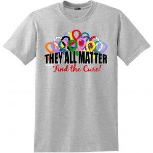 They All Matter Unisex T-Shirt - Heather Grey
