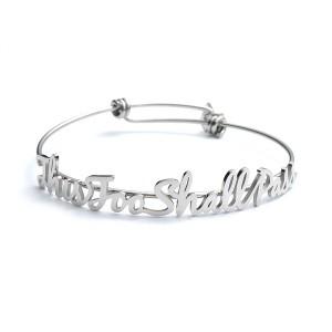 This Too Shall Pass Motivational Bracelet
