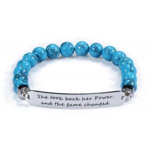 She Took Back Her Power Bead Bracelet for Female Empowerment