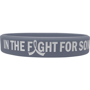 """In The Fight"" Ink-Filled Silicone Wristband Bracelet"