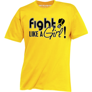 Fight Like a Girl Shirts for Endometriosis, Bladder Cancer