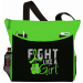 Fight Like a Girl Knockout Dakota Tote Bag - Lime Green