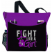 Fight Like a Girl Knockout Dakota Tote Bag - Purple