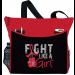 Fight Like a Girl Knockout Dakota Tote Bag - Red