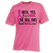 Heck Yeah They're Fake Breast Cancer T-Shirt