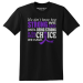 How Strong We Are Purple Ribbon T-Shirt Lupus Epilepsy Pancreatic Cancer