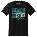 """How Strong We Are"" Unisex T-Shirt - Black w/ Teal"