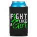 Fight Like a Girl Koozie Can Cooler Lymphoma Lyme Disease Muscular Dystrophy