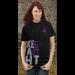 Fight Like a Girl Side Wrap T-Shirt Purple Ribbon