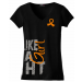 Fight Like A Girl V-Neck T-Shirts for Leukemia, Multiple Sclerosis MS, Kidney Cancer, RSD, Skin Cancer