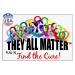 """They All Matter"" Window Cling"