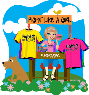 Fight Like A Girl Fundraising